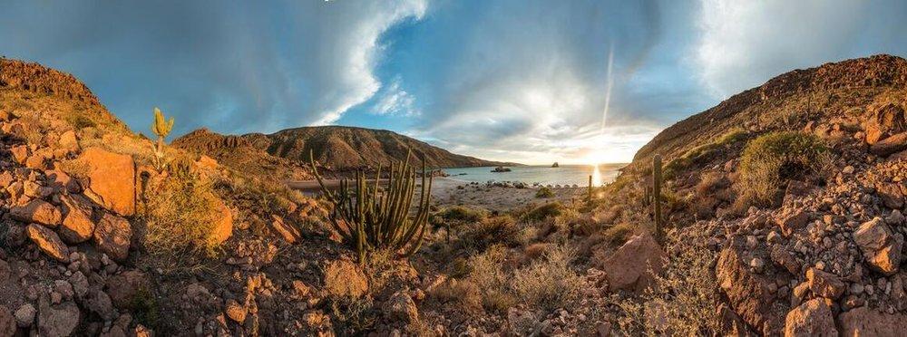 Strong. Confident. Living.Baja, Mexico -