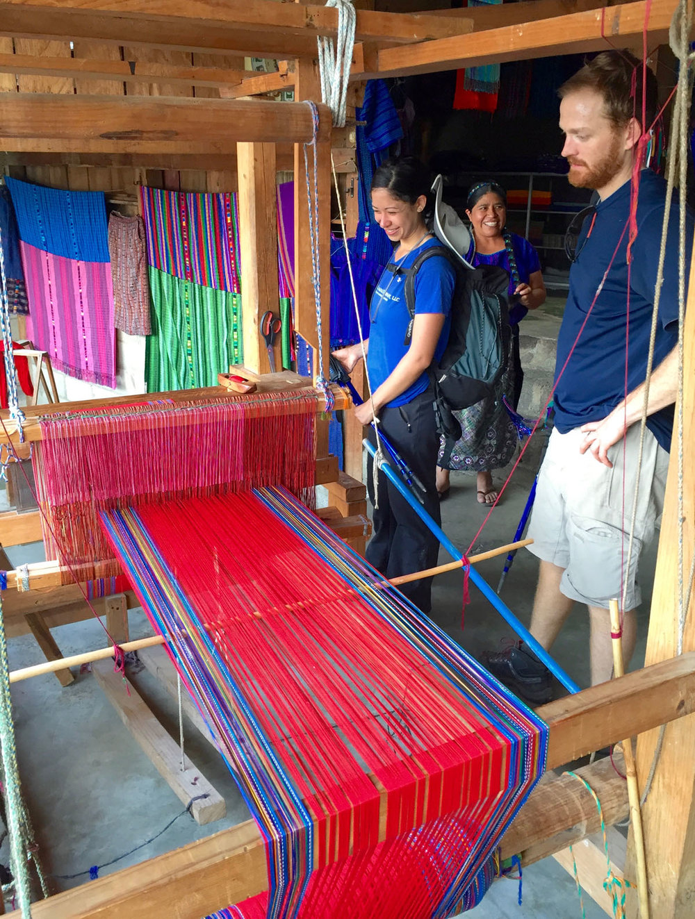 Visit the women's cooperative specializing in traditional weaving.   Meals: |B, L, D|