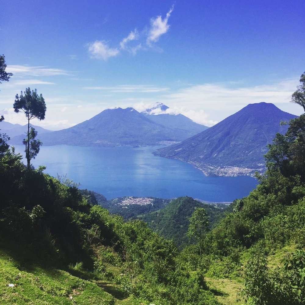 Take in the views of Lake Atitlan as your hike comes to an end.   Meals: |B, L|