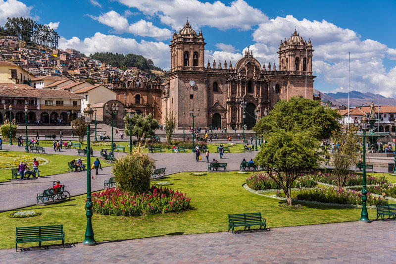 Your hotel is located right off the ever vibrant Plaza de Armas.   Meals:   D