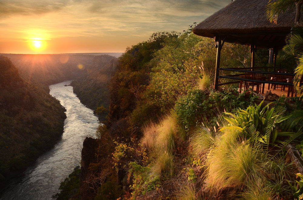 10. Imvelo Safari Lodges - Gorges Lodge -The mighty Zambezi thunders 250 metres below.jpg