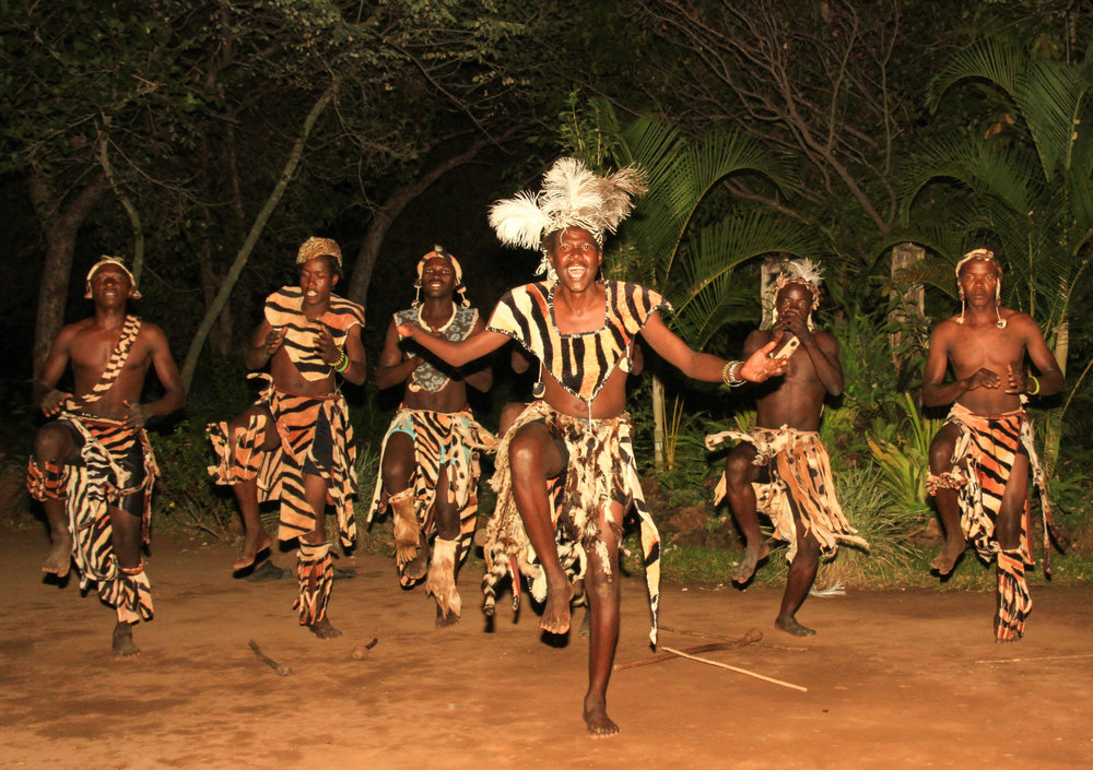 36a - Imvelo Safari Lodges - Gorges Lodge - Sebenze Dance group.jpg