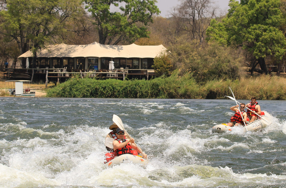 64 - Imvelo Safari Lodges - Zambesi Sands - Canoeing the Zambezi.jpg