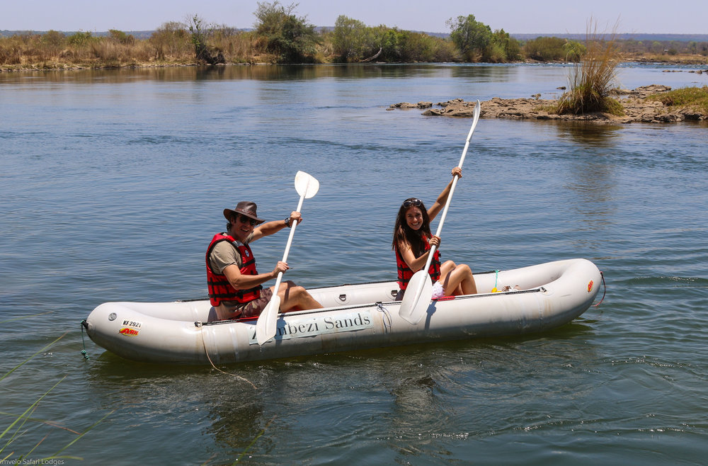 32a - Imvelo Safari Lodges - Zambezi Sands  - Inflatable canoes.jpg