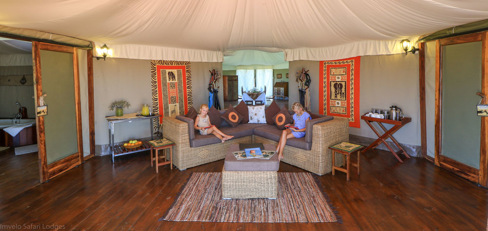 21e - Imvelo Safari Lodges - Bomani - New family tent interior.jpg