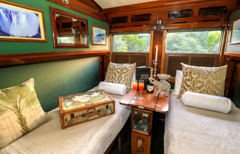 Enjoy a restful night's stay aboard the luxurious train.    Overnight: Aboard the Stimela Star train Meals: B