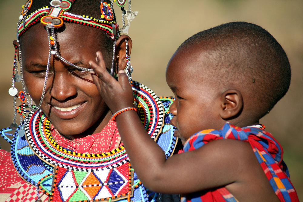 Masai mother with child.jpg