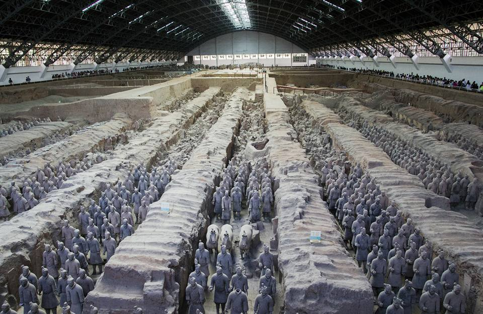 30. april - Terracotta waeeiors of XI'AN
