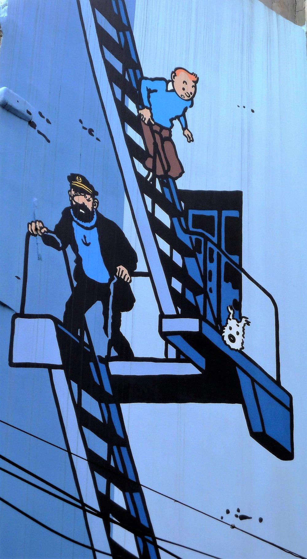 Strip crtači - Jedan od najpoznatijih Žorž Remi Erže crtao je strip Tin Tin.