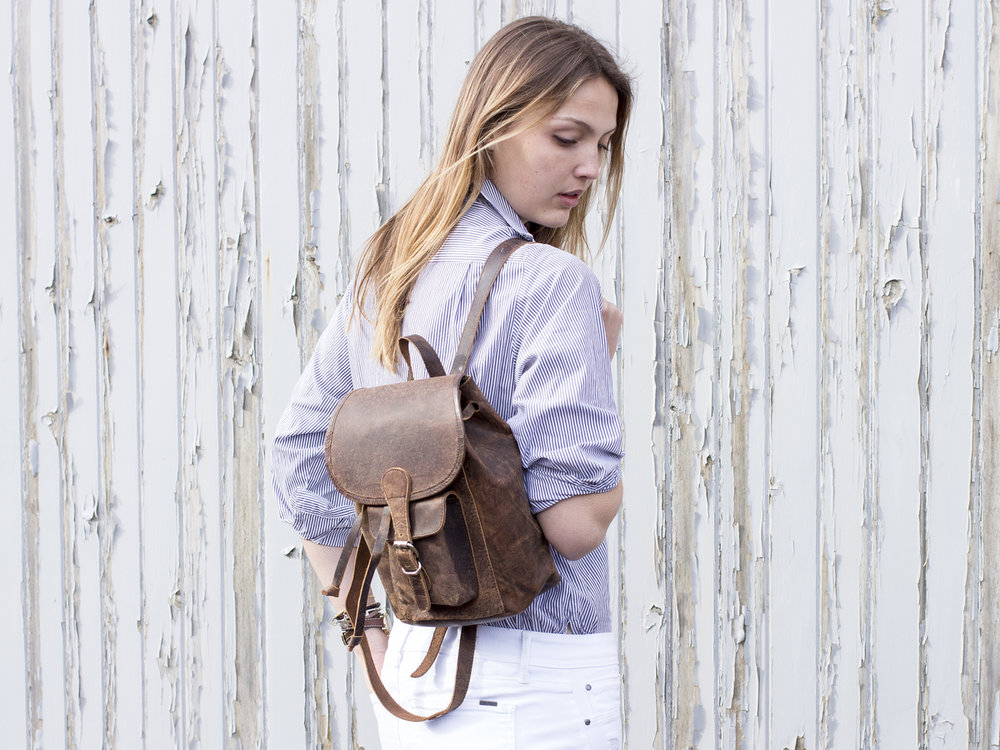 Scaramanga backpack  perfect for hols and days out. Also a great site for laptop bags and satchels.