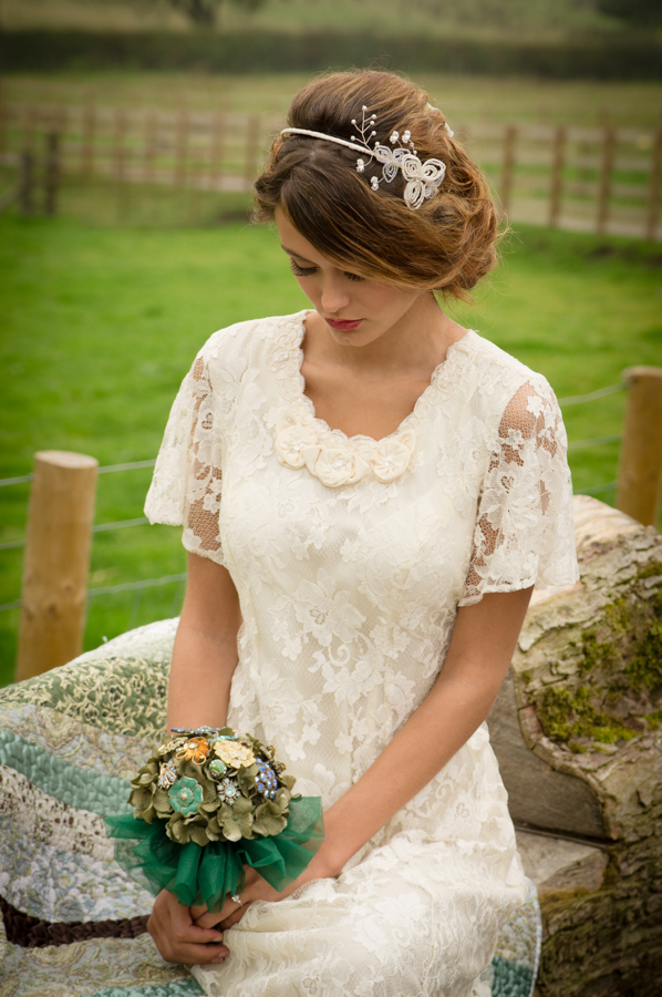 Brooch bouquets by  Glorious by Heidi  in Macclesfield