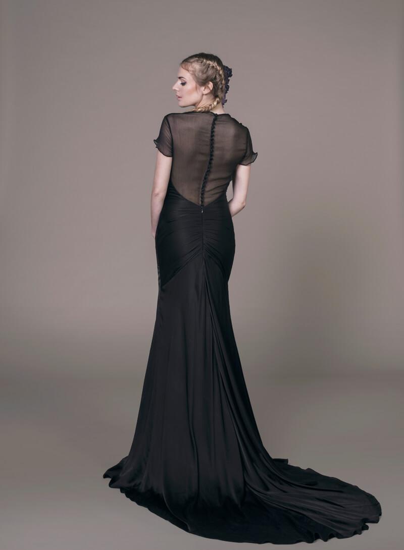 Our  Sanyukta Shrestha  Elle dress comes in this stunning black too.