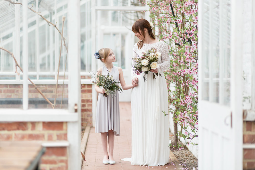 Looking for something bespoke? - Visit the Cheshire studio for a unique eco bridal gown, bridesmaids or prom.