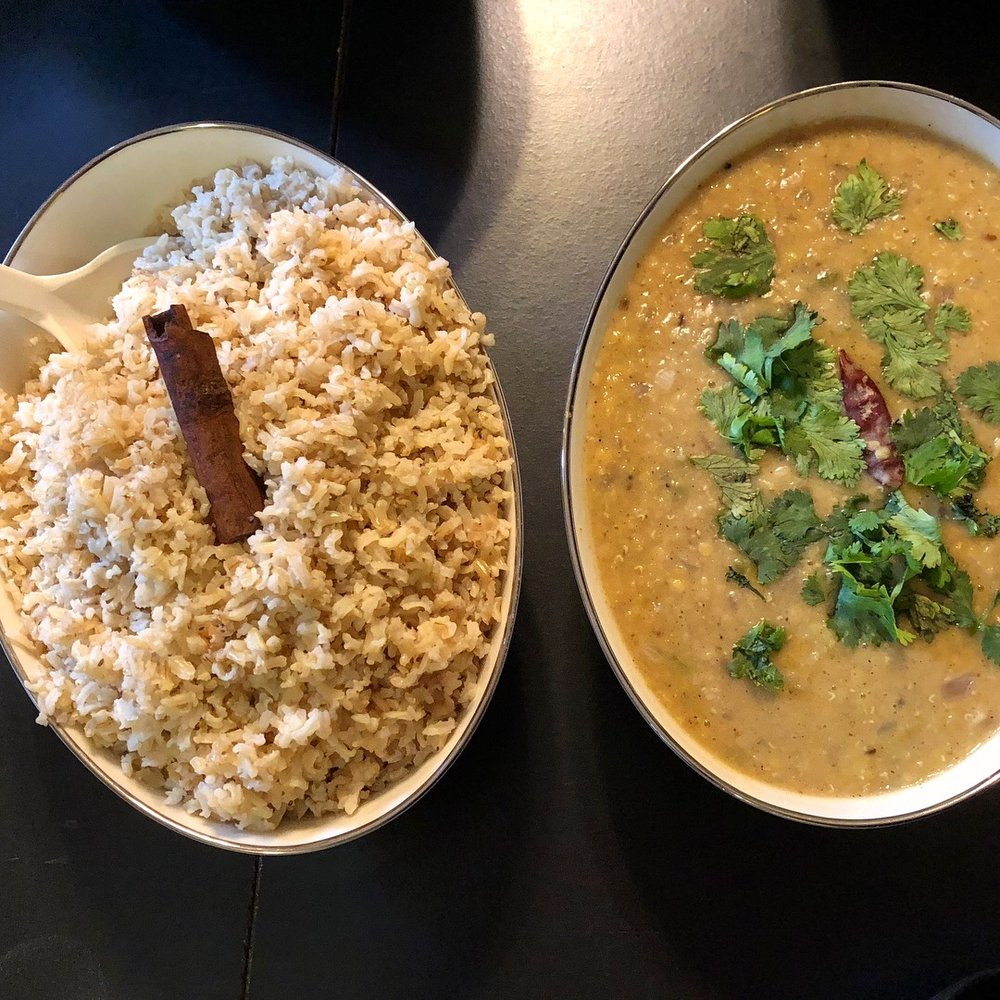 Rice and Beans or Dal