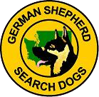 German Shepherd Search Dogs