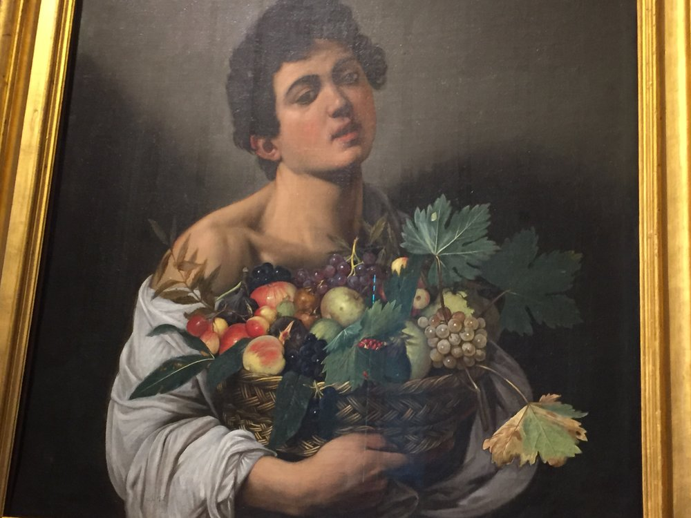 Copy of Boy with a Basket of Fruit - Rome, Italy