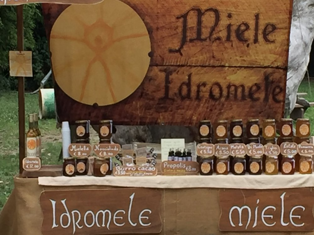 Copy of Honey Stand - Ferrara, Italy