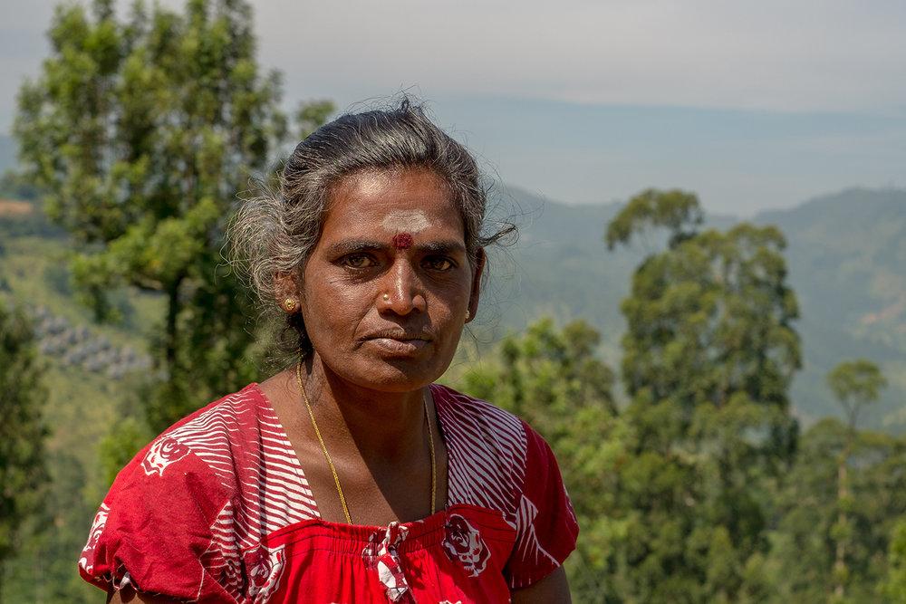 Hindu woman, Nuwara Eliya