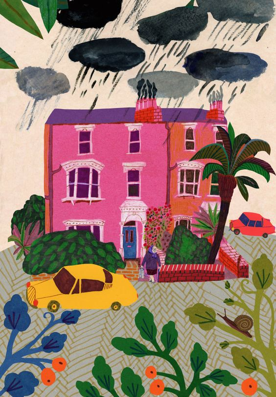 Rainy Days  by Monika Forsberg