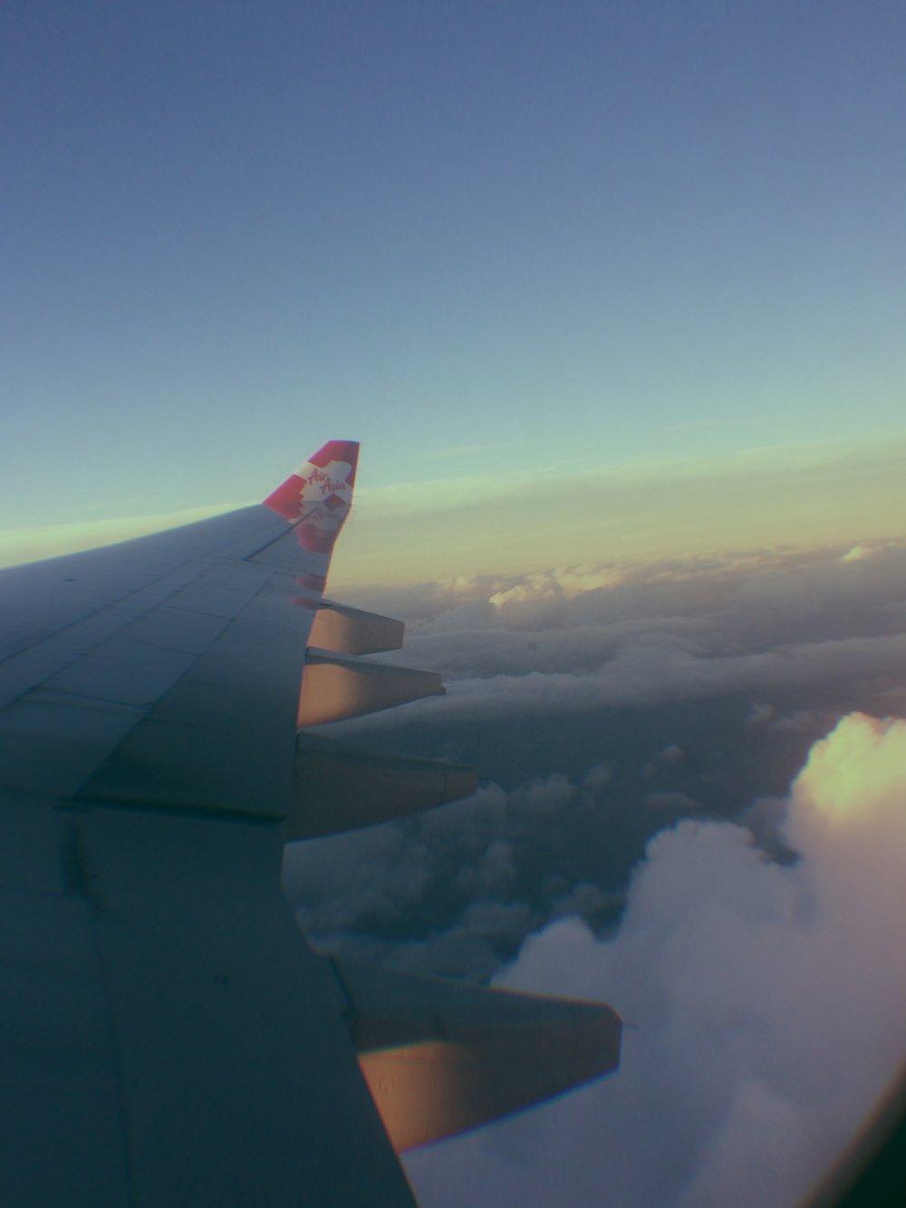 En route to Taiwan