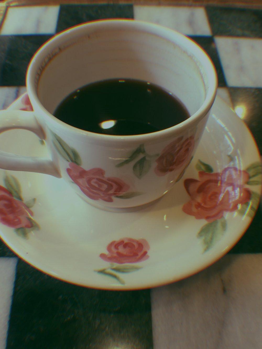 Cute cup in a Taipei coffee shop