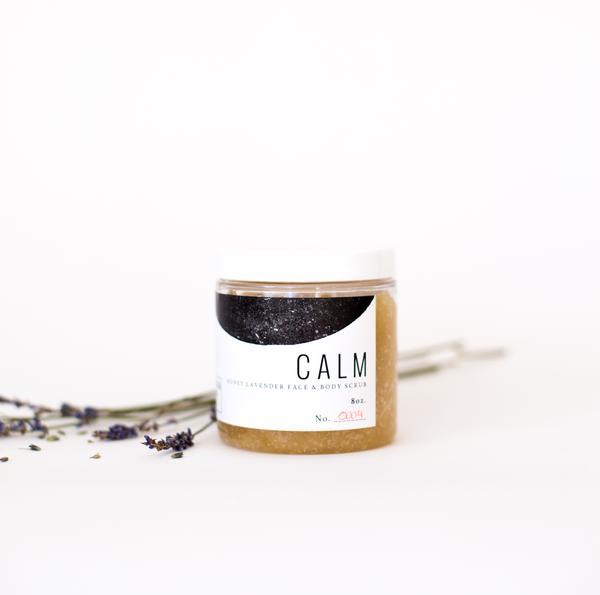 CALM: Face and Body Scrub