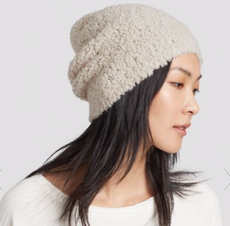 Knit Furry Hat