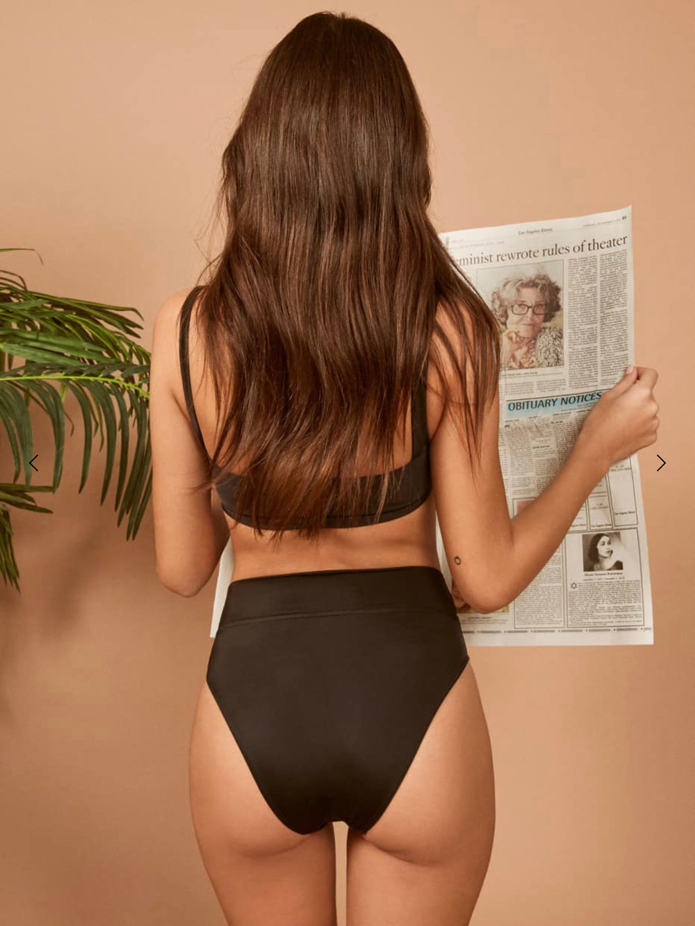 4. Swim Suit - I haven't *quite* decided on style, but I'm pretty sure I'm going with a high-leg black bottom.