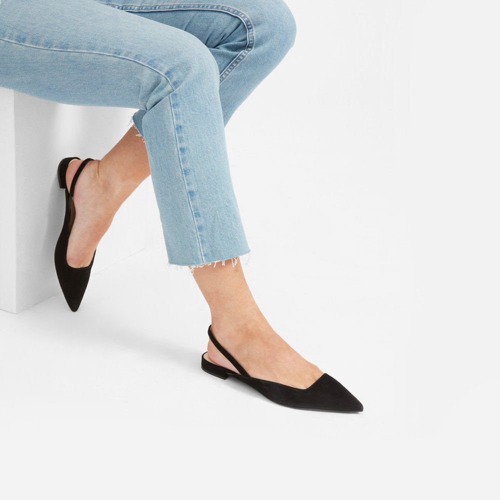 6. Work Flats - Last year, I bought a pair of St. Agni slides and all my camel leather dreams came true. This year, I'm excited to rock these black slingback flat—in addition to my slides, cause you will never tear me away from those beauties. Note: I got these for half the price on Noihsaf!