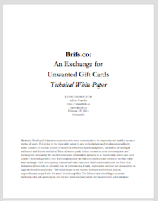 brifs.co Technical Whitepaper (TBA)