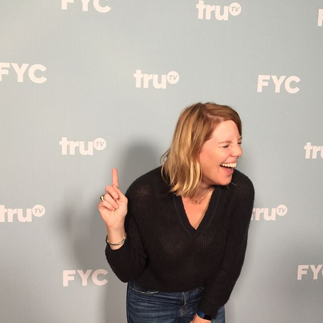 Um paging @loriellenjonas - this is what happens when you're not there . #shenanigans #redcarpet #trutv #foryourconsideration #emmys #goofball #neuehouse