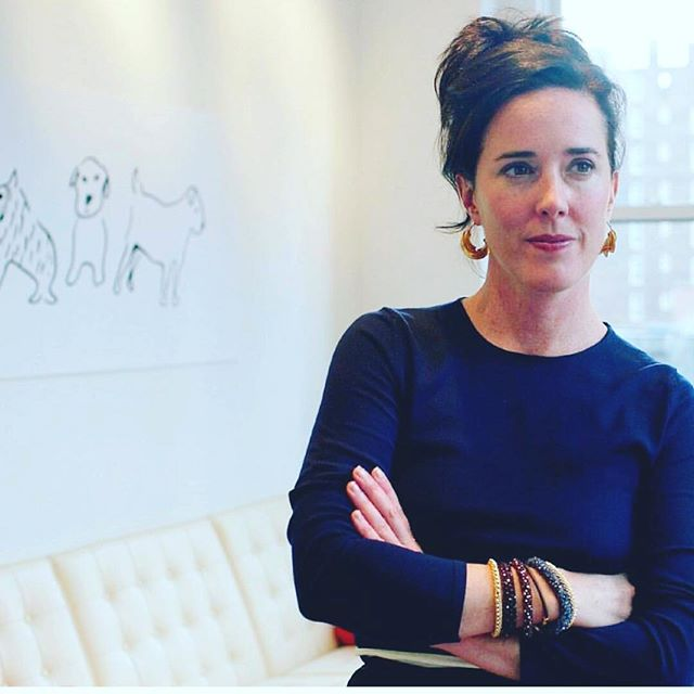 Inspired by this #bosslady Kate Spade and sad for her passing - she was both an entrepreneur and an artist. Who knows how the mind works. If you need help, ask. We are taught to be so self sufficient and in the end - we need people. Sometimes to hold your hand or just to listen.  If you feel like you know someone who could use a call, do it. Call them . Humanity and kindness never go unappreciated. #katespade