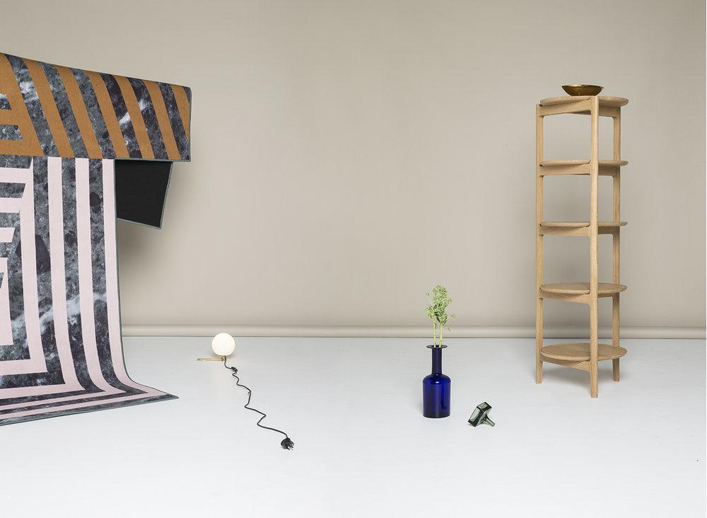 Featured: Lisa Sandall 'Svelto' Open Shelving for Ercol