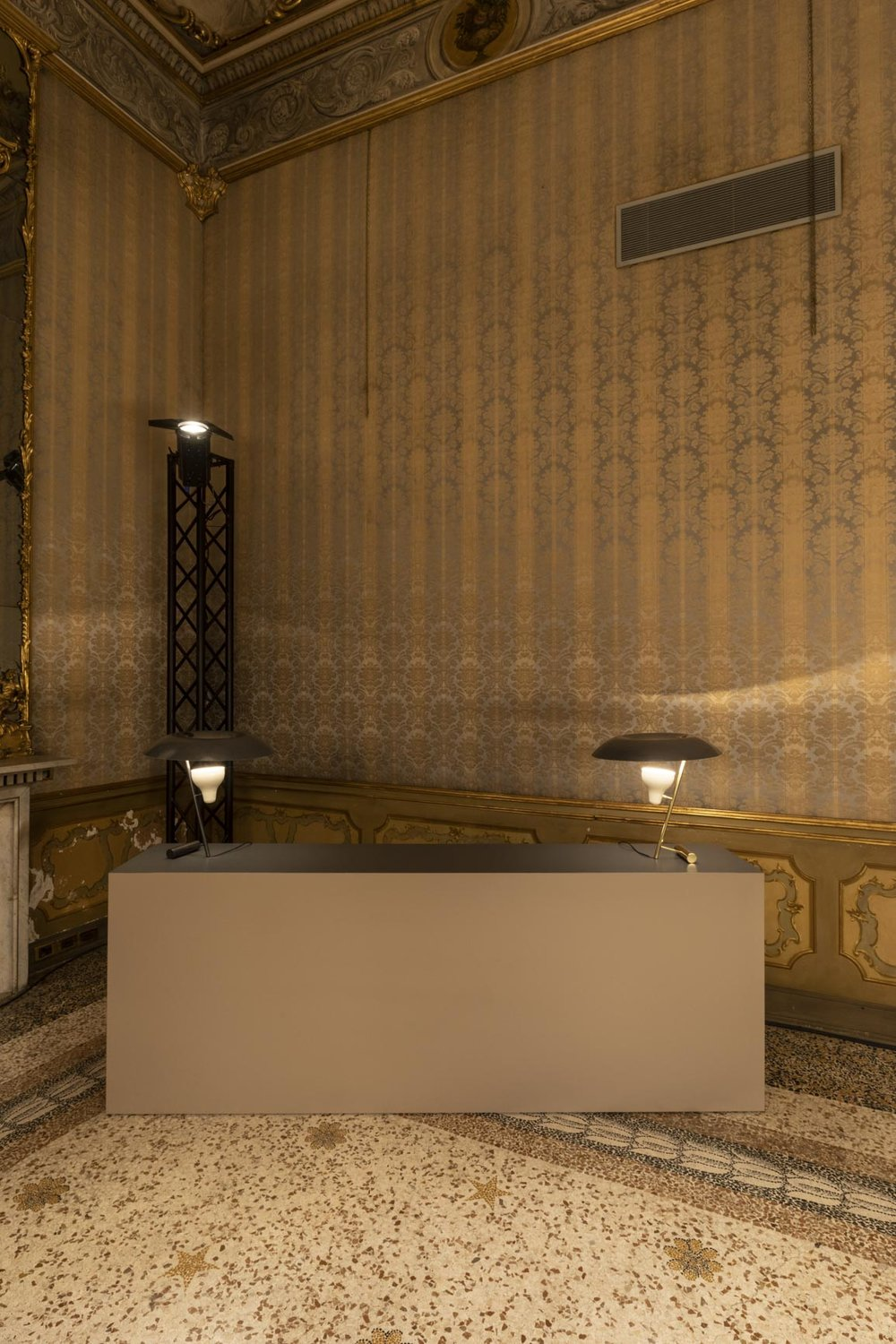 Astep exhibition for Salone del Mobile at Palazzo Litta | Model 548 Table Lamp