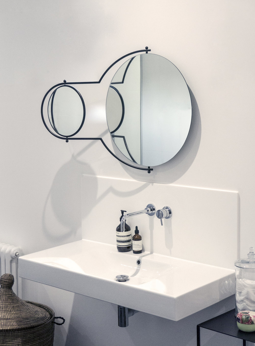 OMK 'Orbit' Mirror - Designed 1981