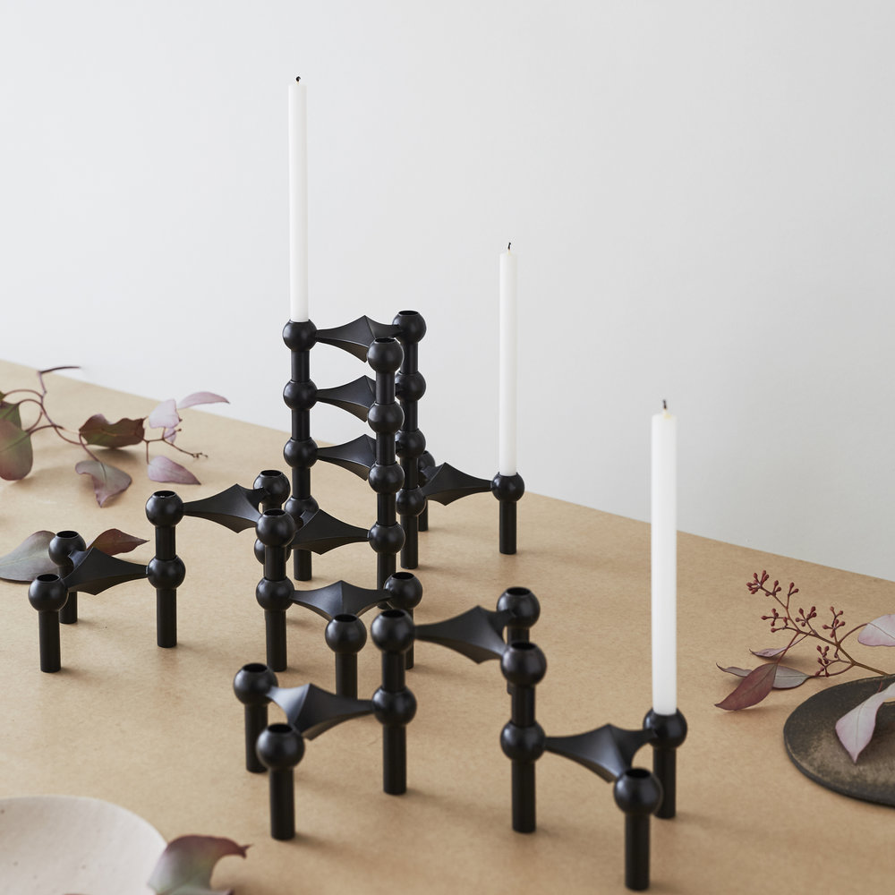 Stoff Copenhagen Nagel Candlesticks