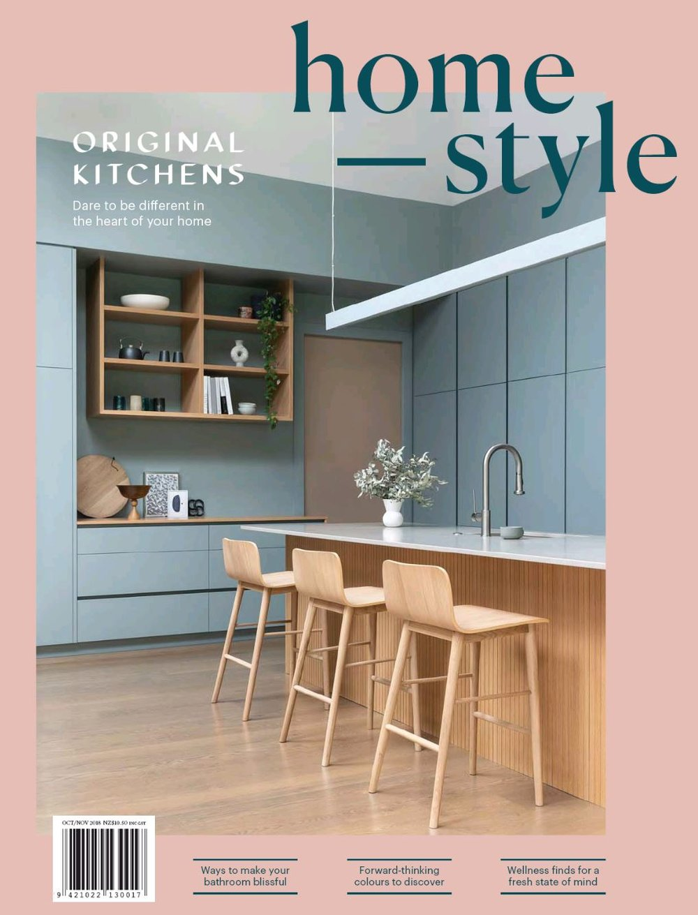 Homestyle Magazine Cover October 2018