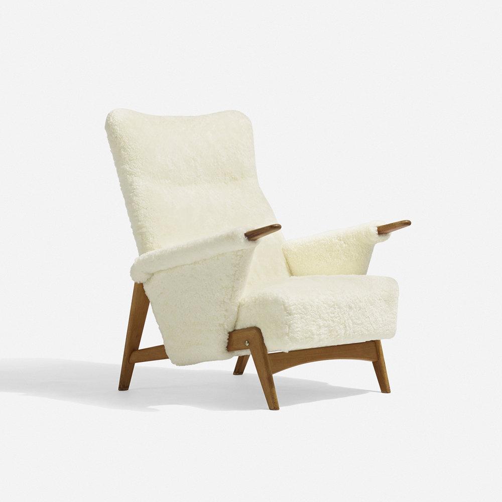 Arne Hovmand Olsen 'Model 480' Lounge Chair Image Credit: Wright 20