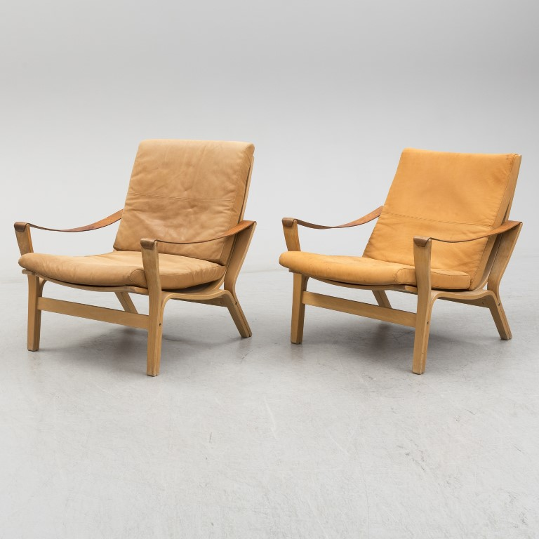 Knud Faerch 'Bolman' Lounge Chair Image Credit: Bukowskis Auction House