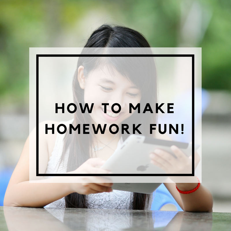 How to make Homework fun graphic.png