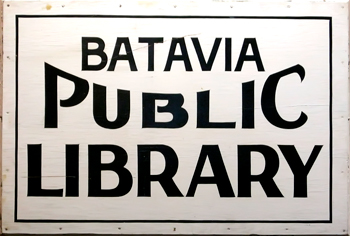batavia-public-library-vintage-sign