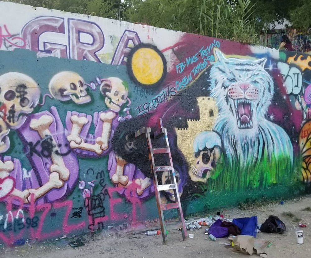 Graffiti Park, Austin TX