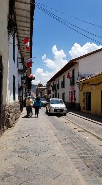 Cusco Calle San Pedro