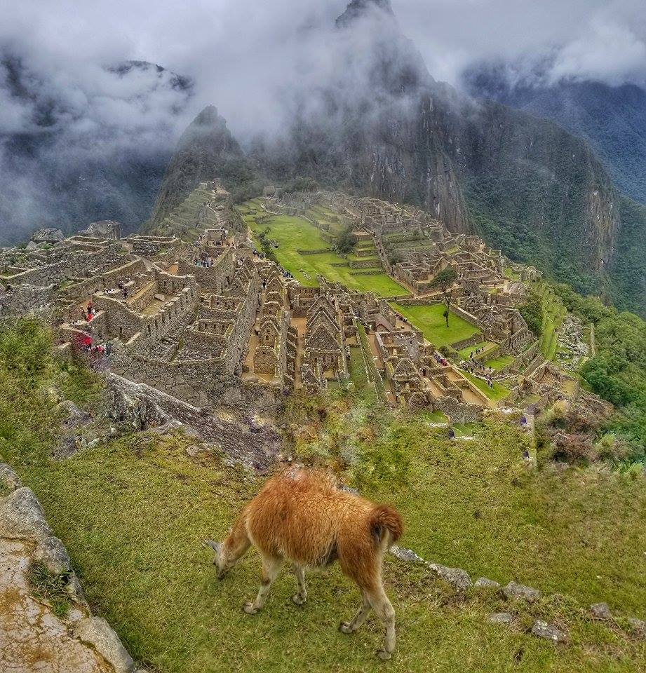 Ancient Incan city of Machu Picchu