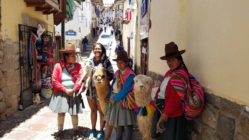 We found alpacas roaming the streets of Cusco