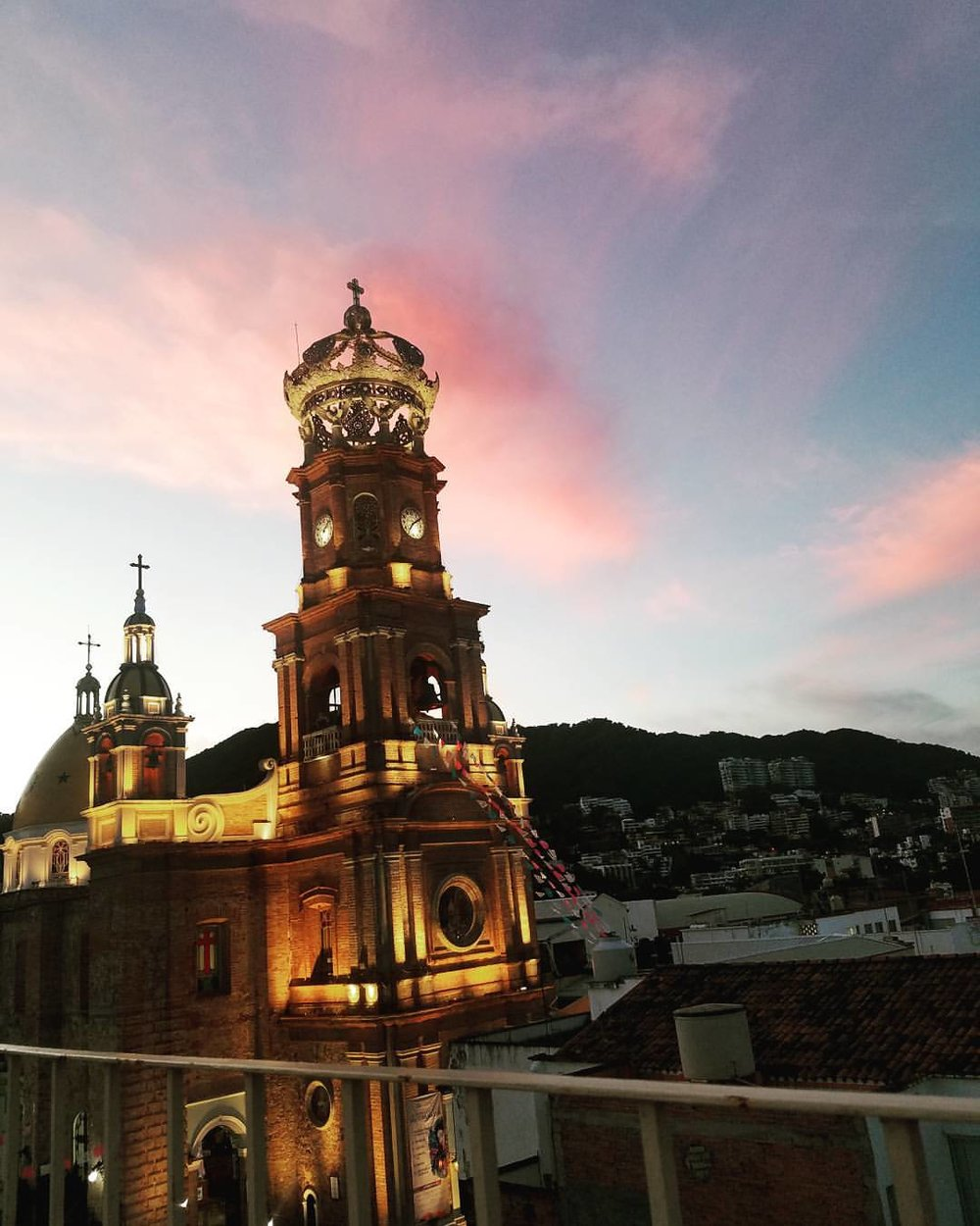 Cathedral de Guadalupe at sunrise