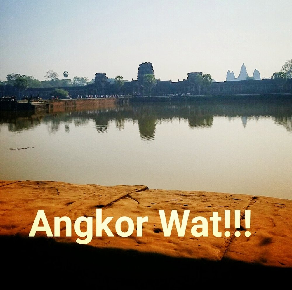Entrance of the Angkor Wat complex