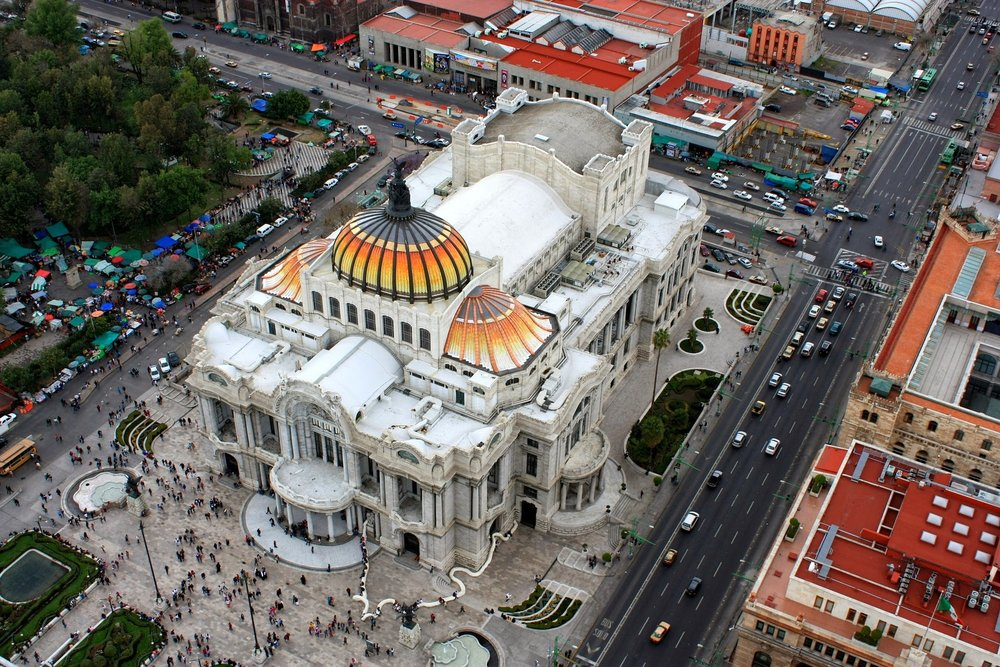 Bellas Artes, Mexico