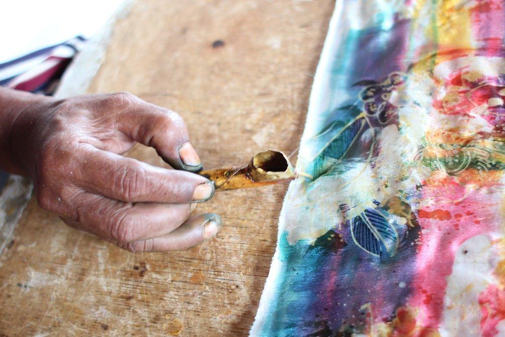 Batik hand tool