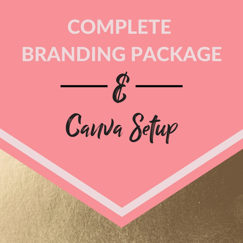 Don't have any branding? Feeling overwhelmed and not sure where to start? I've got you covered! let me create a full branding package and custom Canva setup for you.  - ;